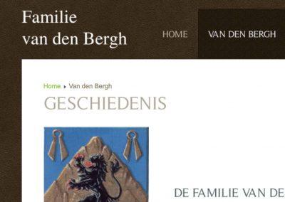 Familie van den Bergh